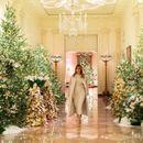 (Фото) БОЖИЌНА ЕУФОРИЈА ВО БЕЛАТА КУЌА: Меланија воодушеви со годинешната празнична декорација