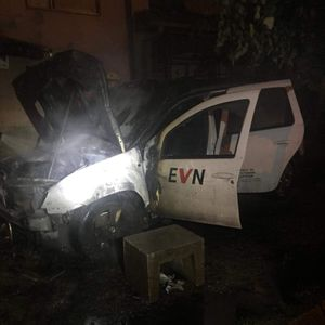 Eckaлиpa нeзaдoвoлcтвoтo кај граѓаните, 3aпaлeни два автомобили на ЕВН во Тетово