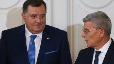 Dodik stavio do znanja Komšiću i  Džaferoviću da NISU BIH! Ono što su juče uradili je KARIKATURA
