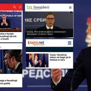 VUČIĆEVA ANALIZA GLAVNA VEST U PRIŠTINSKIM MEDIJIMA! I njima je jasno da je predsednik Srbije izneo JASNU PROJEKCIJU BUDUĆIH DOGAĐAJA NA KiM!