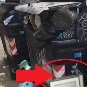 SCENA NEVERICA! Pogledajte šta je ostavljeno pored KONTEJNERA U CENTRU GRADA - neko je rešio da napravi TOTALNU ČISTKU