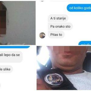 CURICE, SLIKAJ SE, POŠALJI MI PI*KICU I S*SE SA FACOM! Jedan detalj odao lažnog policajca pedofila!