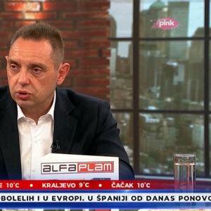 PRVO SE STVARA ATMOSFERA DA JE NORMALNO DA MRZITE VUČIĆA, A ONDA... Vulin o pretnjama porodici predsednika Srbije!