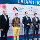 """POSETA KRALJEVU! Ministar Udovičić otvorio """"Mali sajam sporta"""" i obišao radove na stadionu!"""