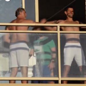 SPARTANSKI TRENING! Da li je moguće? Pogledajte šta sve Novak radi na terasi! /VIDEO/