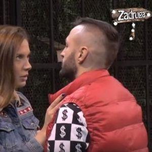 IVANA ALEKSIĆ UŠLA U ZADRUGU - ŠA OSTAO U ŠOKU! Evo šta mu je ŽENA poručila pred KAMERAMA! /VIDEO/