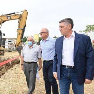 /Foto/ Vesić: Do 2023. godine celo Barajevo će imati vodu!