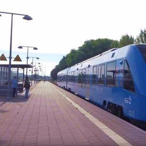 Пуштен во сообраќај првиот воз што не загадува (ВИДЕО)
