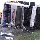 Повредени патници од Македонија  во тешка сообраќајна несреќа во близина на Линц