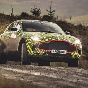 Почна теренското тест возење на најновиот Астон Мартин (ФОТО+ВИДЕО)