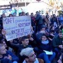 Протест на албанските студенти поради зголемувањето на тарифите за испитите