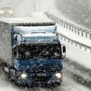 Забрана за движење на тешки товарни возила на повеќе патни правци поради снег