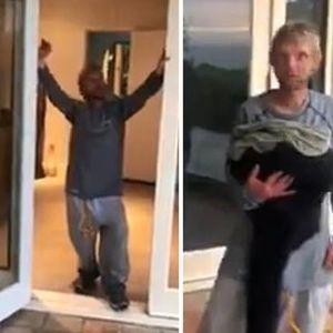 Бездомник шокирал брачна двојка – им се вселил дома додека биле на одмор