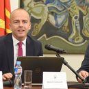"""Тевдовски на конференцијата """"Оданочување, праведност и економски развој"""" организирана од ФЕС во Eреван"""