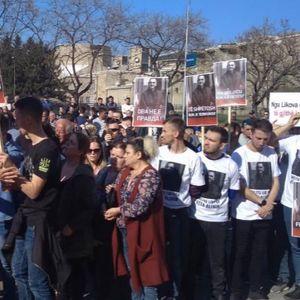 Протест против пресудата на Абдулфета Алими