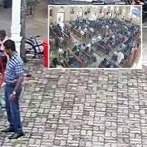 Бомбашот што уби стотици во црква во Шри Ланка застана за да погали девојченце