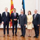 Министерот Димитров на средби со естонскиот премиер Ратас и министерот за надворешни работи Реинсалу
