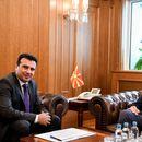 Премиерот Заев на средба со поранешниот претседател на државата Црвенковски