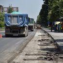 """Во тек е реконструкцијата на булеварот ,,Партизански одреди""""  во Скопје"""