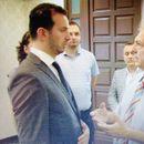 Министерот Сухејл Фазлиу на  промоцијата на проектот за реконструкција на Музејот на албанската азбука
