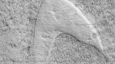 """Леталото на НАСА на Марс го сними логото на серијата ,,Ѕвездени патеки"""""""