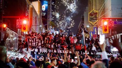 Торонто и цела Канада  ја прослави историската победа во НБА