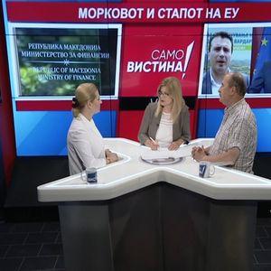 """Иванка Василевска и Мирче Адамчевски во """"Само вистина"""""""