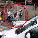 Хаос во Берн - Полицијата со пукотници ги смируваше навивачите на Црвена Ѕвезда (ВИДЕО)