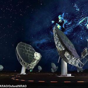 Научниците во вселената открија структура долга со светлосни години