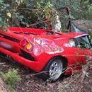 Купил класик на Ламборџини , па го уништил при првото возење (ФОТО)