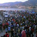Островот Лезбос ја спушта  рампата за мигранти