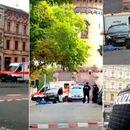 Објавена снимката од нападот пред синагогата во Германија- напаѓачот фрлил и граната (Вознемирувачко видео)