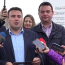 Заев и Сугарески во увид на градежните работи на клучката за ТИРЗ Прилеп