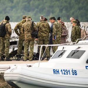 Од Јадранското море извлечено телото на вториот пилот , остатоци од воениот хелокоптер и црната кутија