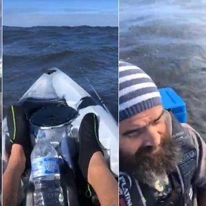 Тргнал на риболов среде невреме и во живо ги пренесувал своите последни моменти (ВИДЕО)