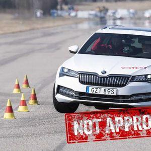 Хибридниот VW Passat и Шкода Суперб паднаа на тест
