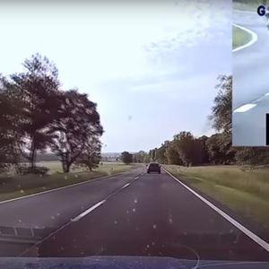 Возач на БМВ со 190 км/час претекнува полициско возило , не поминал добро