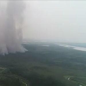 Глобално затоплување : Најтопол јуни во историјата на мерењата во Сибир (ВИДЕО)