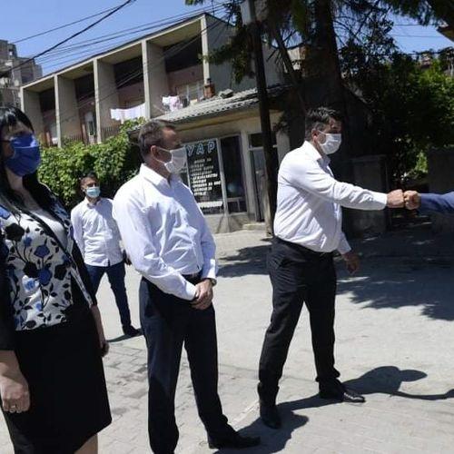 Директорот на БЈБ,Тасевски, го посети ОВР Прилеп