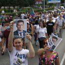 Илјадници Руси на протести против апсењето на гувернерот на Москва (ВИДЕО)