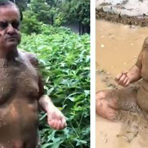 Политичарот, кој тврдел дека капењето во кал штити од корона,добил ковид-19
