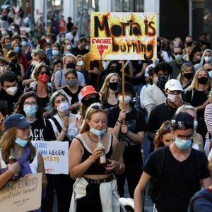 Илјадници демонстранти во Берлин бараат од ЕУ спас за мигрантите на Лезбос