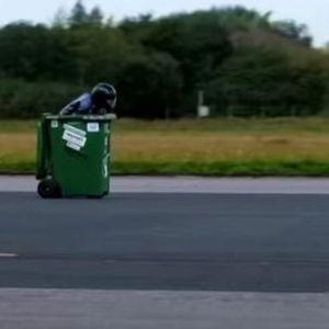 """Најбрзата канта за ѓубре ,,лета"""" со 65мк/час"""