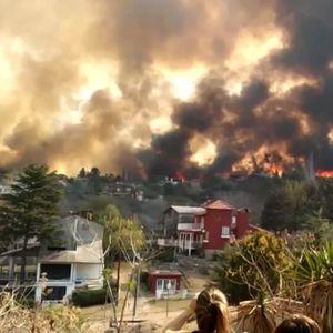 Големите пожари во Аргентина се приближуваат до градот Сикиман