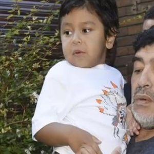 Марадона ја упатил последната порака до очувот на неговиот најмал син