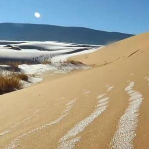 Видео: Снег ја покри пустината Сахара