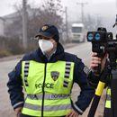 Санкционирани 181 возач во Скопје, 61 за брзо возење, 30 под дејство на алкохол