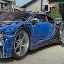 Направиле Bugatti Chiron од метални отпадоци (ВИДЕО)
