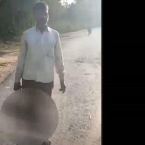 Татко ја обезглавил својата ќерка,па се пријавил во полиција (Вознемирувачко видео)