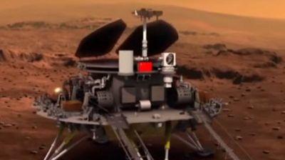 Кинески ровер ноќеска ќе се обиде да слета на Марс